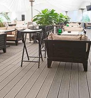 Террасы для кафе и ресторанов