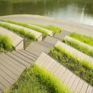 Терраса в парке Олимпийской деревни 15